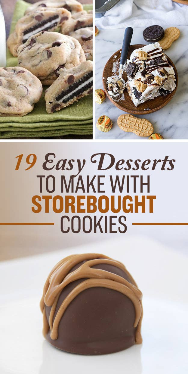 18 Unbelievably Delicious Things You Can Do To Store-Bought Cookies