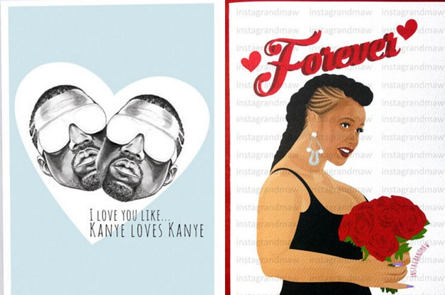 17 Cards Your Valentine Will Love As Much As Kanye Loves Kanye – Kanye West Valentine Cards