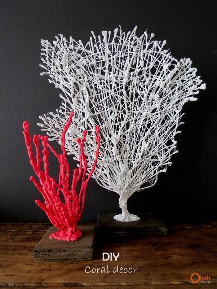 Make These Crafty C Masterpieces With Just Some Wire Glue And Paint