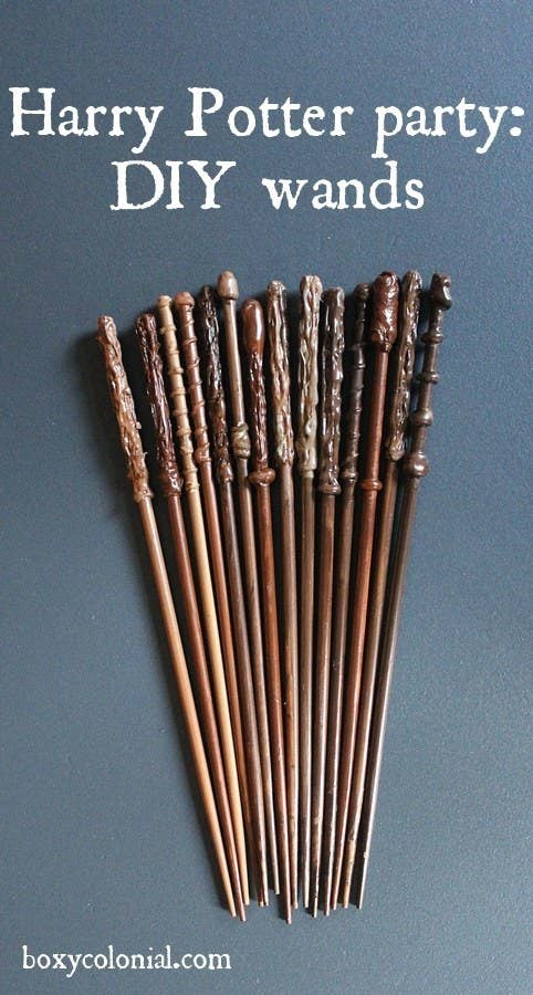 15 Skip A Trip To Diagon Alley By Making Your Own Wand At Home