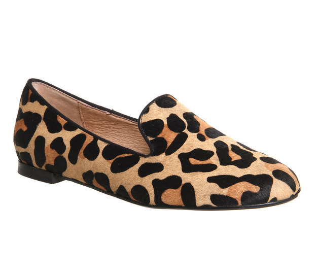 These sassy leopard print flats for $23.19.