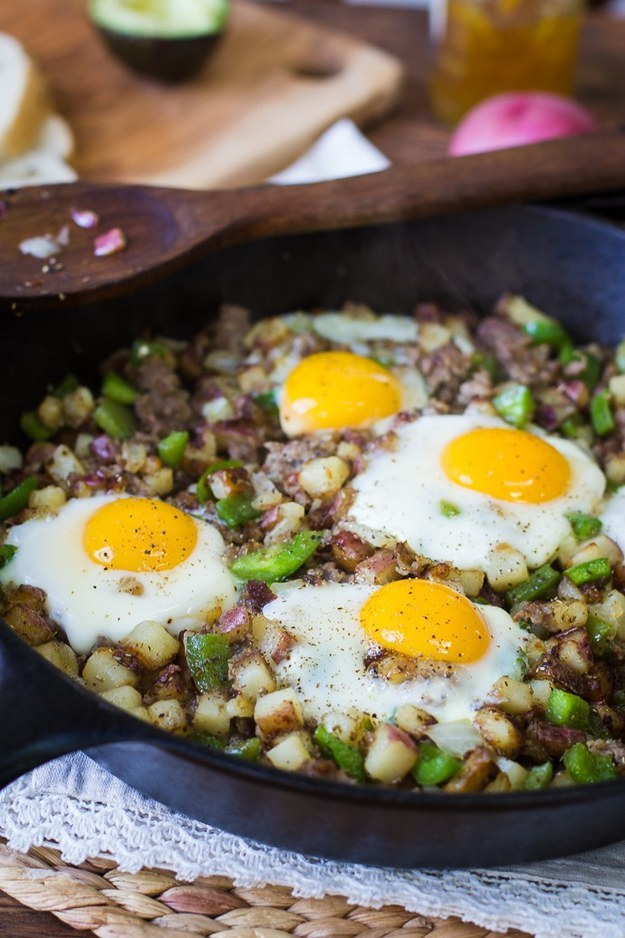 Red Potato Skillet Hash
