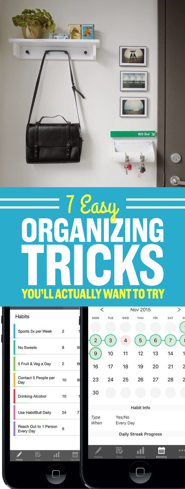7 Easy Organizing Tricks You'll Actually Want To Try