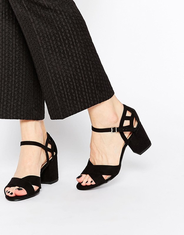 These chunky heels for $35.00.