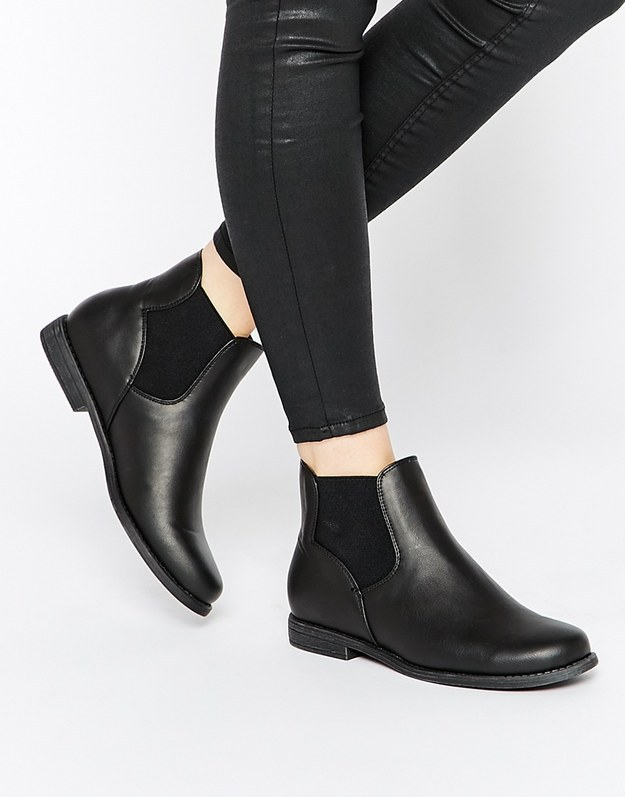 These Chelsea boots for $35.00.