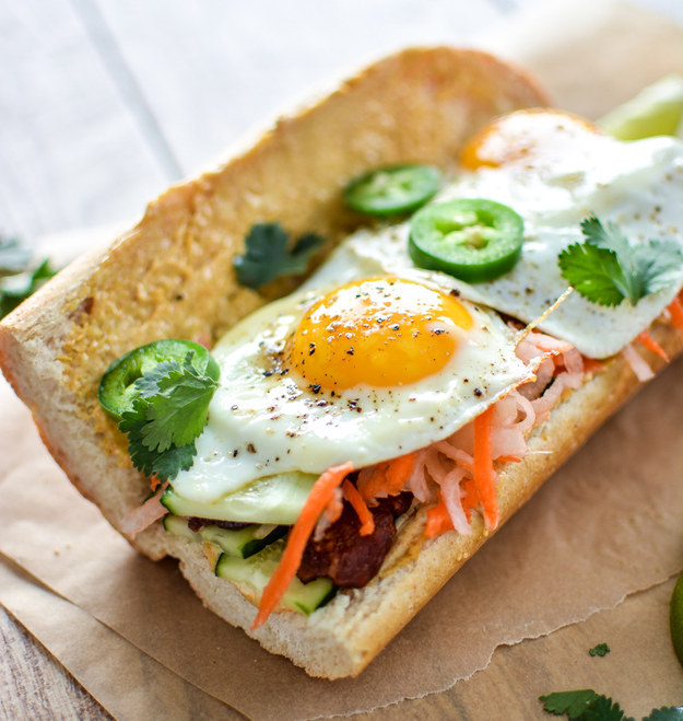 Breakfast Bahn Mi