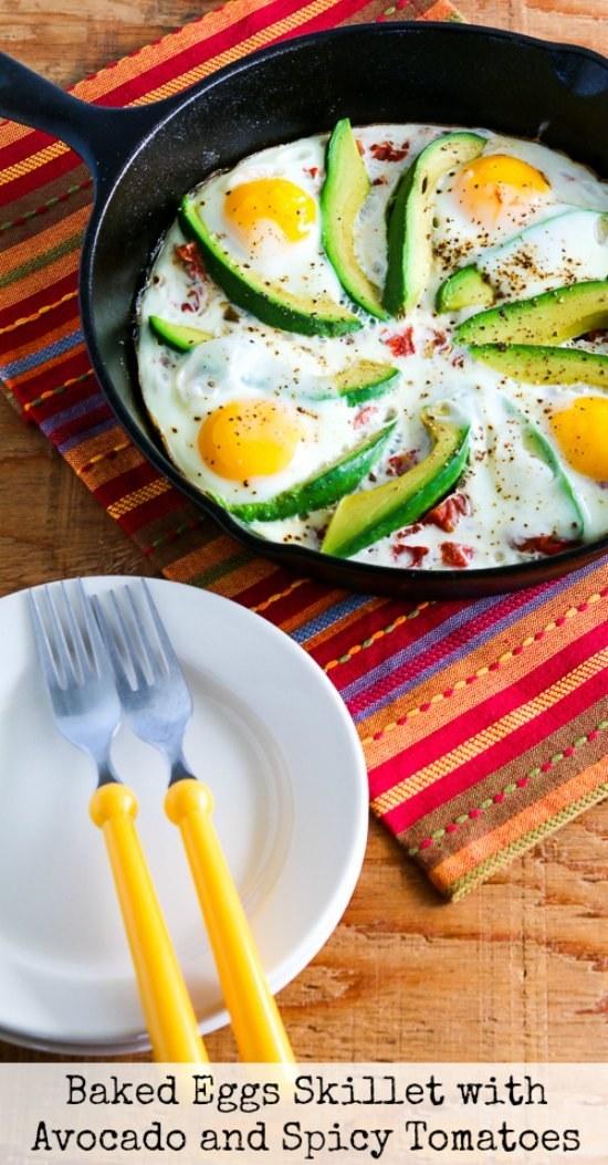Baked Eggs Skillet