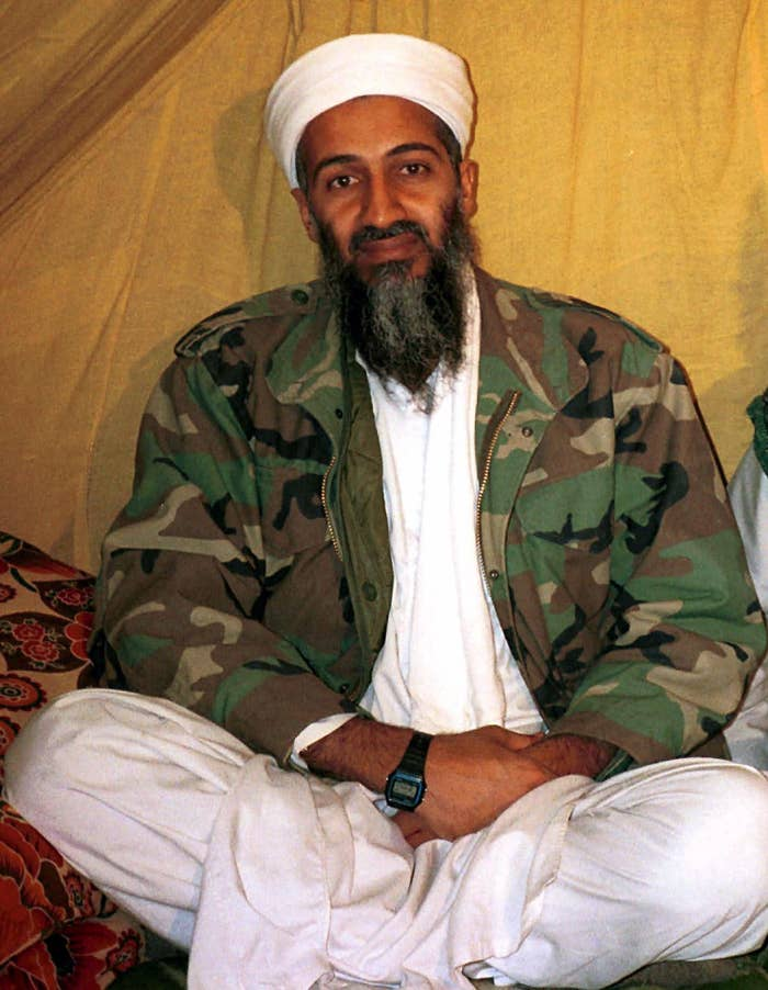 FILE - This is an undated file photo of al Qaida leader Osama bin Laden, in Afghanistan. (AP Photo, File)