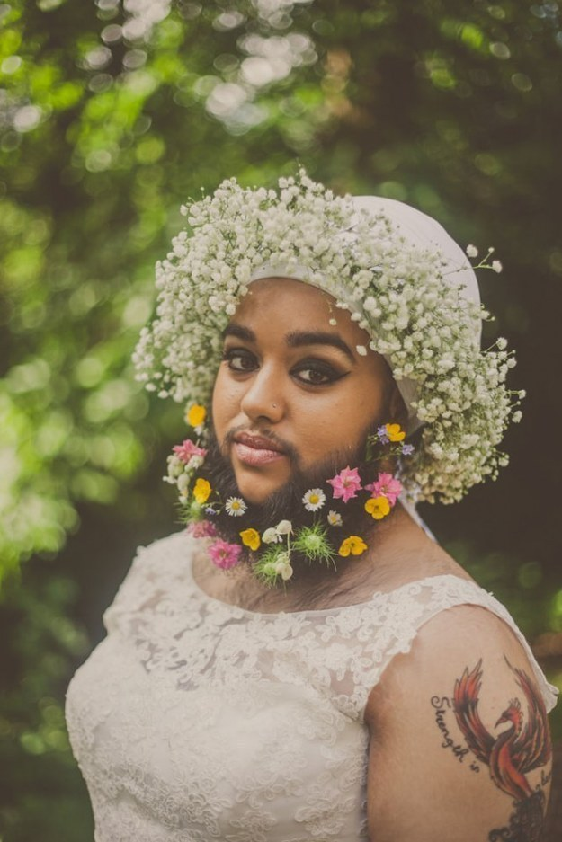 This Bearded Woman Is Breaking Every Beauty Norm There Is And It's Inspiring AF