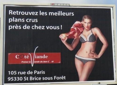 Publicité de services sexuels