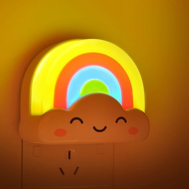 This happy little night light.
