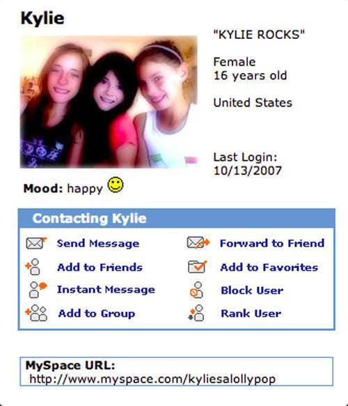 kylie's bio