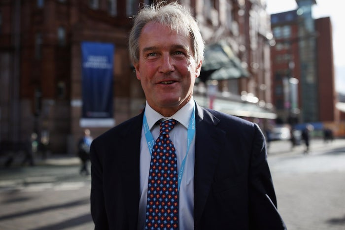 Owen Paterson, pictured at the 2015 Conservative party conference