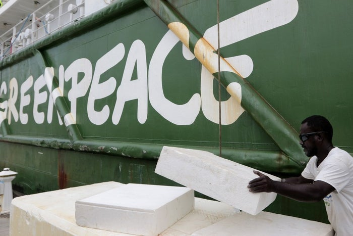 Greenpeace was among organisations fiercely criticised by Paterson for their anti-GM stance.