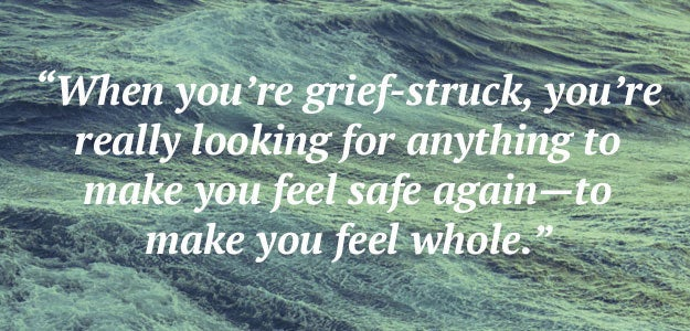 """When you're grief-struck, you're really looking for anything to make you feel safe again—to make you feel whole."" —Saeed Jones"
