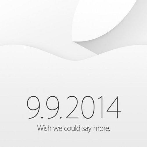 Apple Watchが発表された時のもの。「more」=新しい端末=AppleWatch