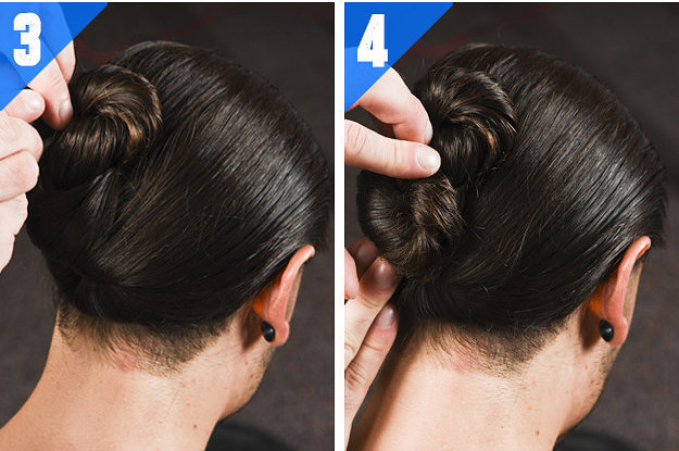 Try This Cool Figure 8 Bun When Your Hair Is Dripping Wet
