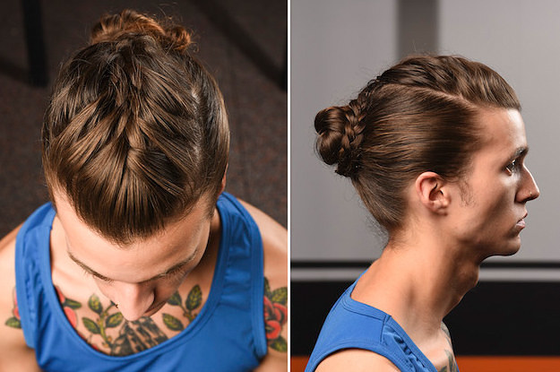 This french braid bun is so damn pretty it hurts ccuart Images