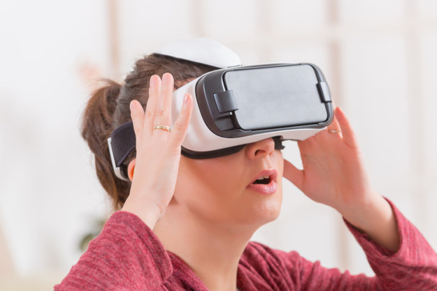 VR is being used to help treat depression.