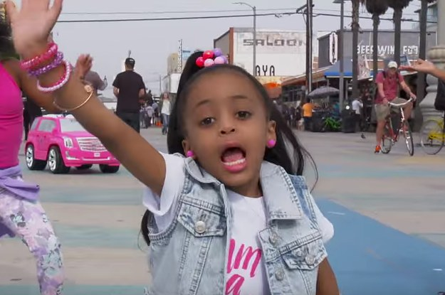 This Little Girl Doing The Lean And Dab Has Way More Swag Than You