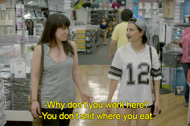 Your BFF always knows what stores you usually like to hit up.