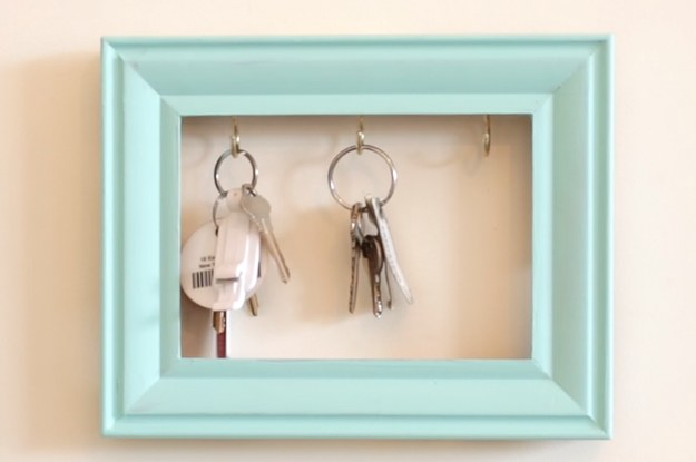 Make This Easy Key Holder And Never Lose Your Keys Again
