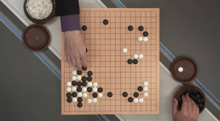 Go Is An Ancient Chinese Game In Which You Place Stones On A 19 By