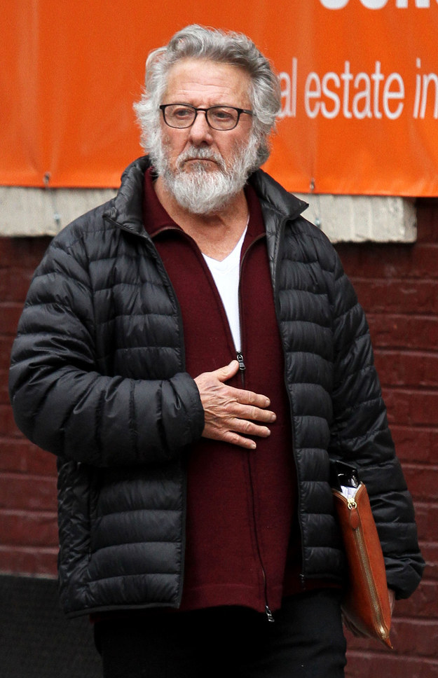 Because Dustin Hoffman has a big ol' beard now...
