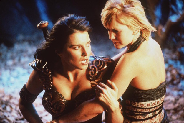 When Xena: Warrior Princess was originally on the air, Xena and her faithful companion Gabrielle were as much of a couple as you could be in the '90s — subtext and innuendo for days without a fully contextual on-screen relationship.