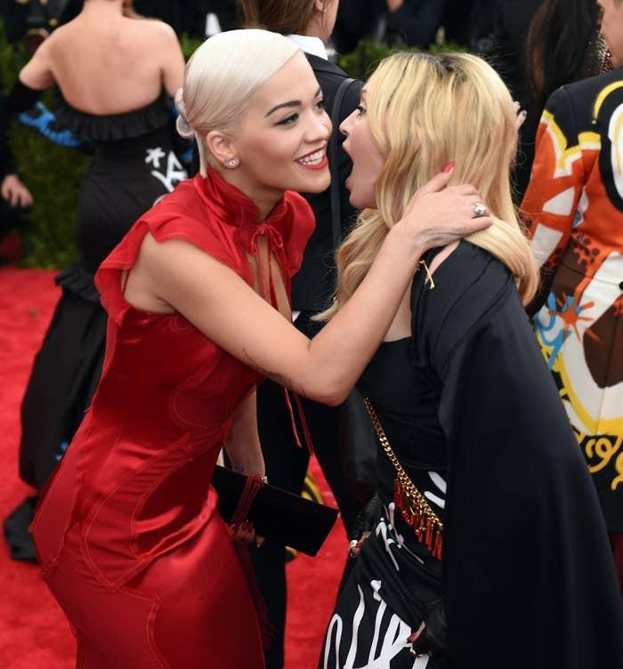 Madonna Made Rita Ora Get On Her Knees To Meet Her