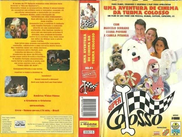 """O programa virou filme: """"SuperColosso"""" foi lançado em 1995."""