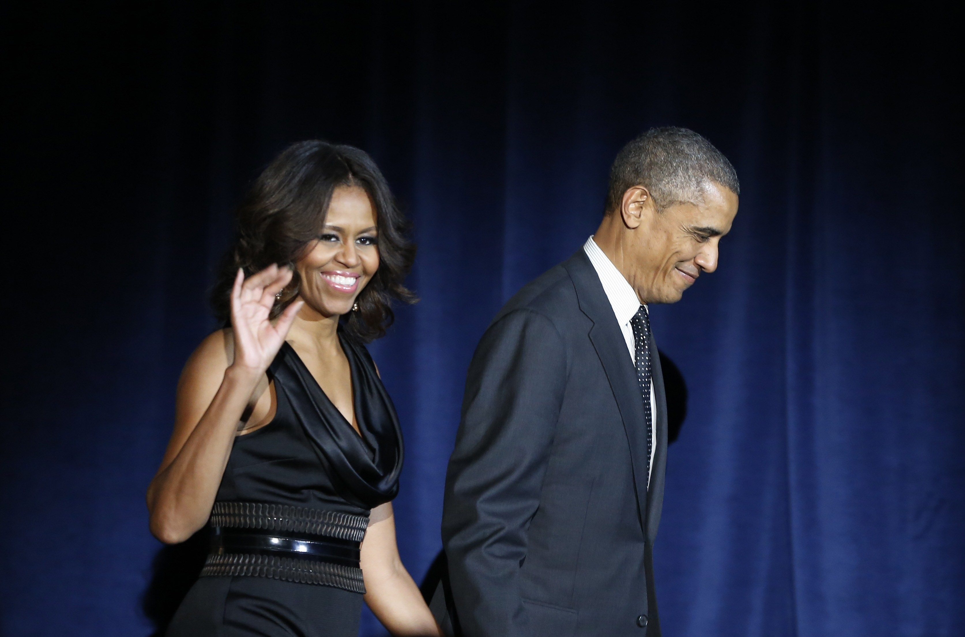 President Obama Says He Appreciates His Gorgeous Wife's Curves