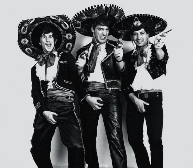 """Os """"Três amigos"""", Angeli, Glauco e Laerte eram redatores do programa."""