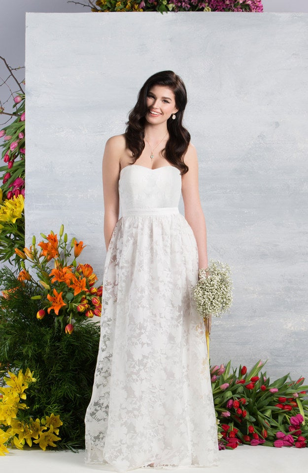 Right now, 60% of the wedding dresses and 70% of the bridesmaid dresses are exclusive to ModCloth.