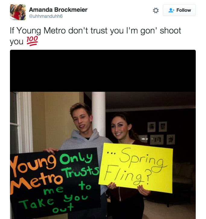 Heres The Story Behind The Phrase If Young Metro Dont Trust You