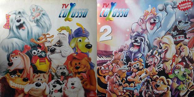 """A """"TV Colosso"""" lançou dois discos."""