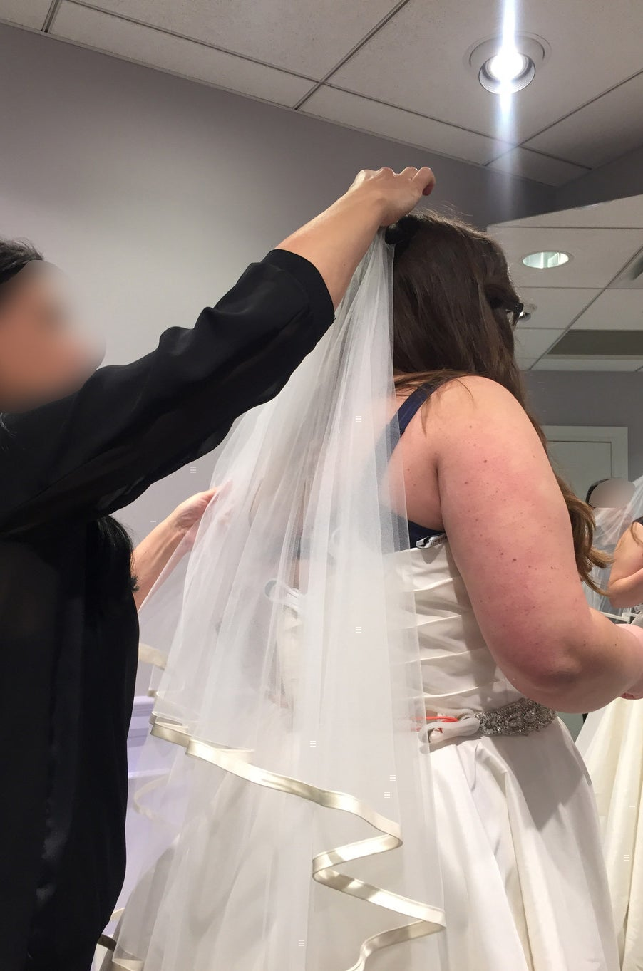 2fb6b3438c1 I Went To The Bridal Salon From