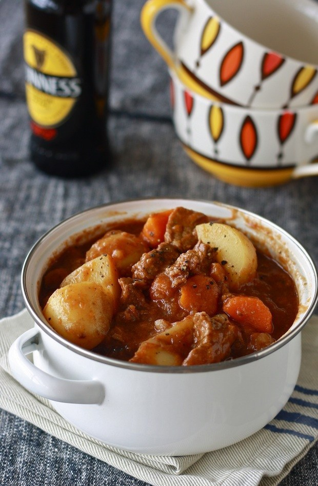 Guiness Irish Beef Stew.