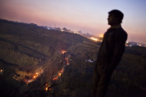 There has been an underground fire burning in the coal mines of Jharia, Jharkhand for a hundred years now.