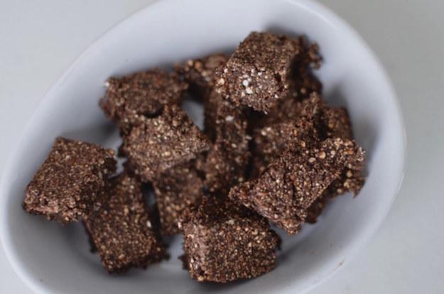 Chocolate Quinoa Squares