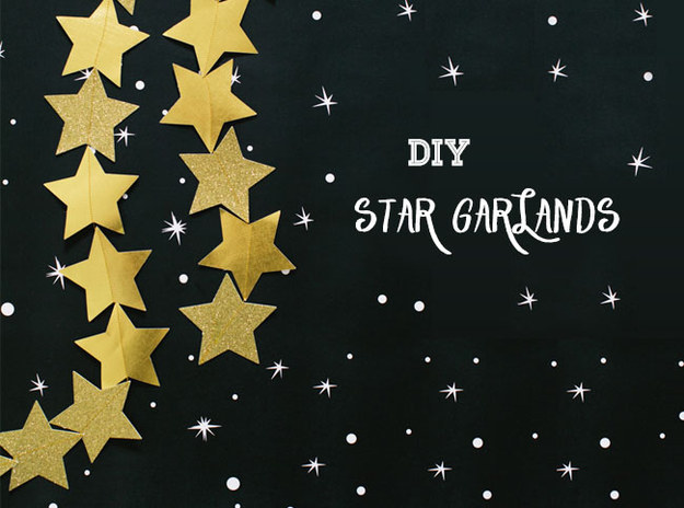 Or string a garland of stars to rival those on the Walk of Fame.