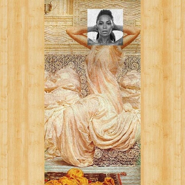 Beyoncé done up Albert Joseph Moore style? **Flawless.