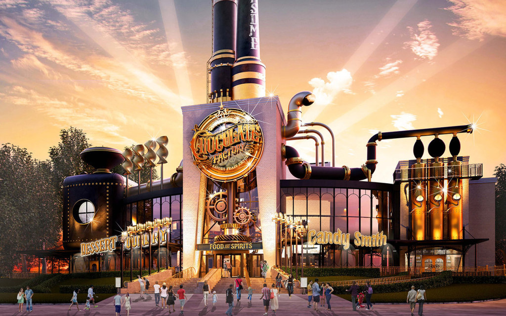 This New Restaurant At Universal Studios Is Willy Wonka's Chocolate Factory Come To Life