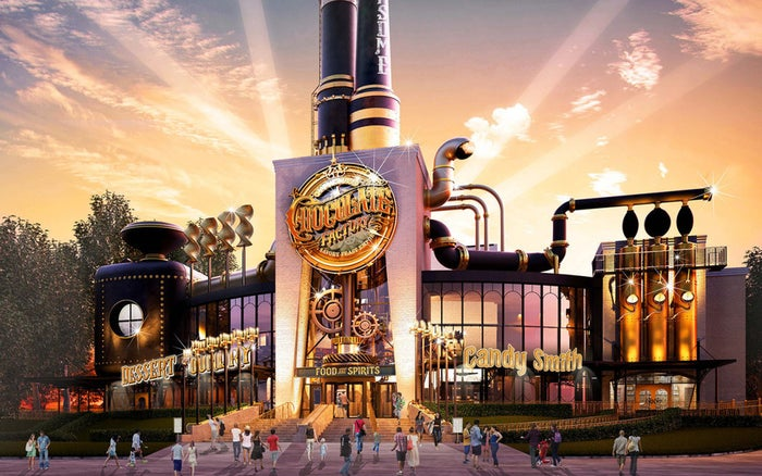 And because it will be located at Universal CityWalk (the entertainment and retail district located near the theme park), you won't have to pay park admission to try it out when it opens later this year.