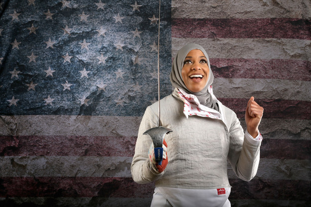 Meet your new favorite person: Ibtihaj Muhammad, badass fencer from Maplewood, New Jersey.