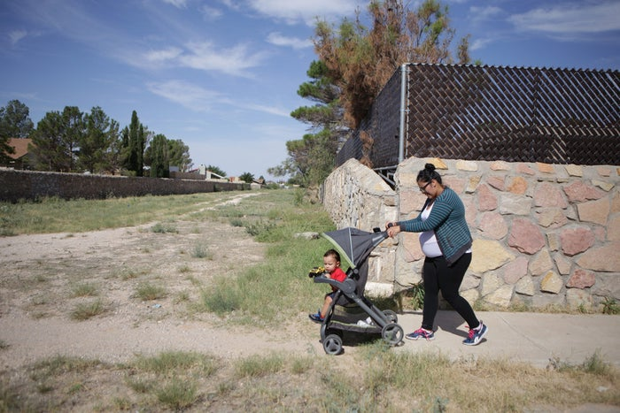 Carina Canaan, 24, was jailed for 10 days in an El Paso county jail for unpaid traffic tickets while she was pregnant with her son.
