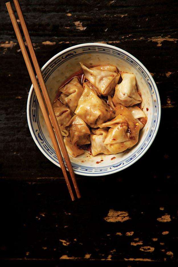 Sichuan Chile Wontons
