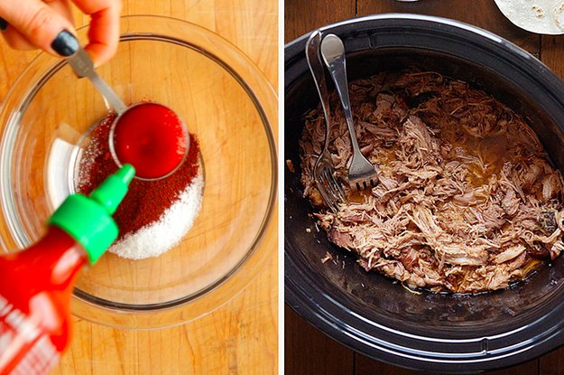 These Spicy Slow Cooker Carnitas Are The Perfect Weeknight Dinner