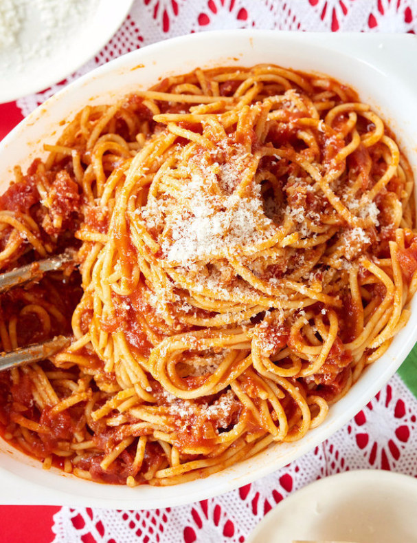 The Ultimate Spaghetti with Red Sauce
