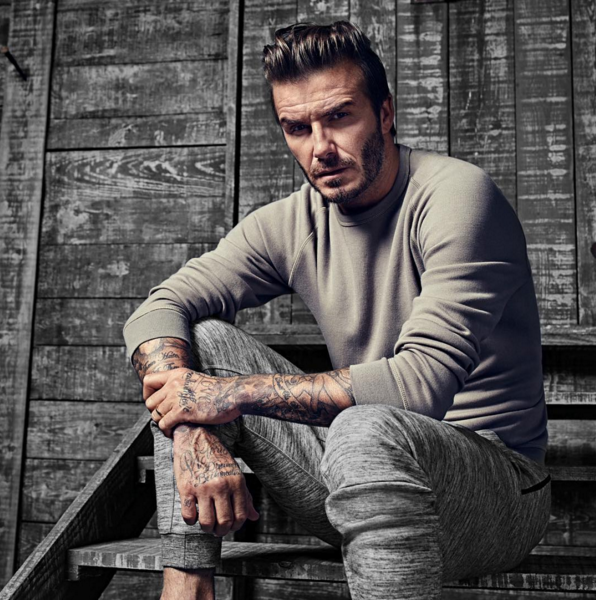 "He's David ""Perfectly Broody"" Beckham."